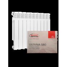 Алюминиевый радиатор отопления Standard Hidravlika Ostrava S 80