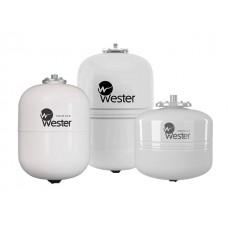 Мембранный бак для ГВС Wester Premium WDV 12 (Контрфланец из нержавеющей стали. Пригоден для накопления воды после обратного осмоса.)